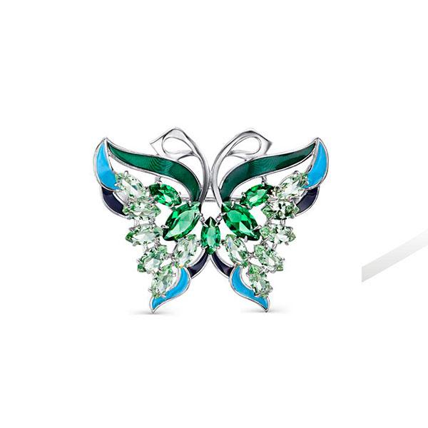 Брошь бабочка- арт.72830-М3-9